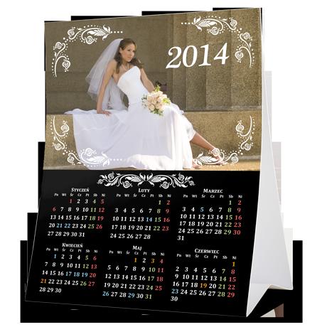Kalendarz biurkowy piramidka